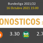 Union Berlin vs Wolfsburgo Pronostico (16 Oct 2021) 7