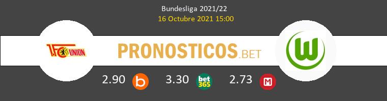 Union Berlin vs Wolfsburgo Pronostico (16 Oct 2021) 1