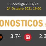 VfL Bochum vs Eintracht Frankfurt Pronostico (24 Oct 2021) 2